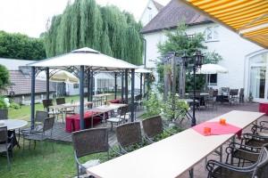 Terrasse zum Feiern im Freien